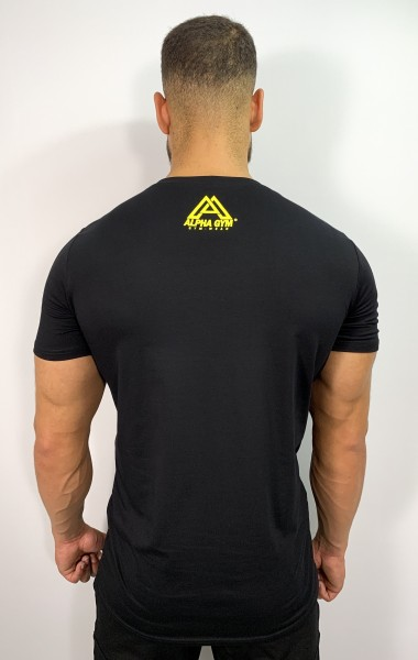 """ORIGINAL"" T-Shirt black/yellow"