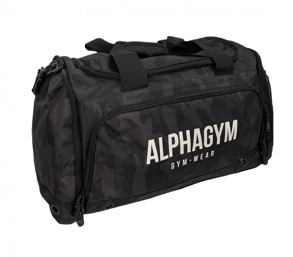 """PERFORMANCE"" GYM BAG Black Camouflage"