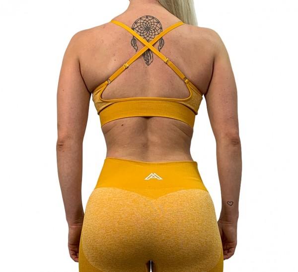 """HYPER ACTIVE"" Sport BH yellow"