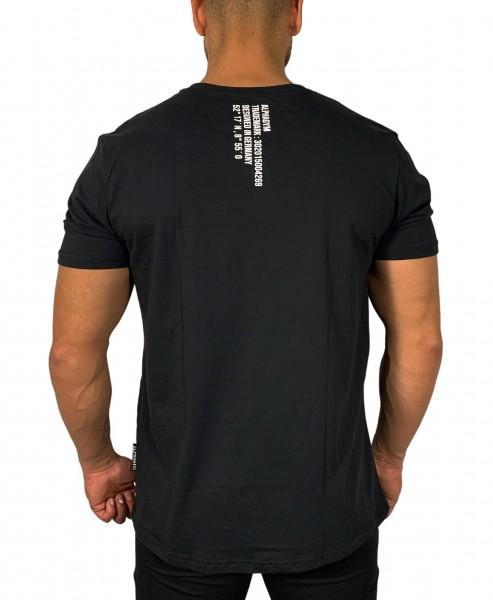 """""""LOCKDOWN"""" Oversized T-Shirt black/white"""