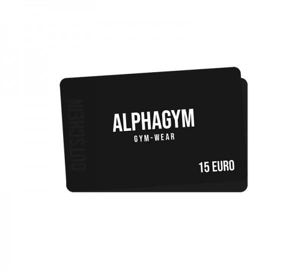 ALPHA GYM 15 Euro Gutschein