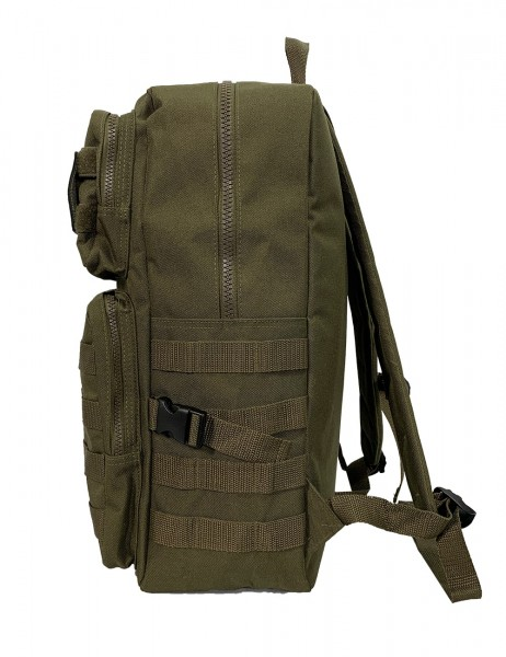 """ASSAULT BAG"" Rucksack military green"