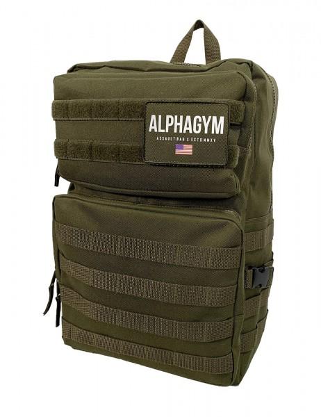 """ASSAULT BAG"" Rucksack military green"