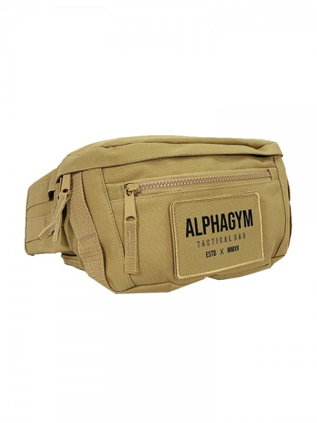 "ALPHA GYM ""TACTICAL"" BELT BAG sandstorm"