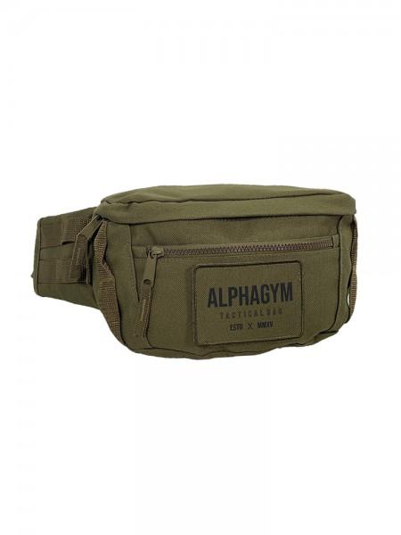 "ALPHA GYM ""TACTICAL"" BELT BAG military green"