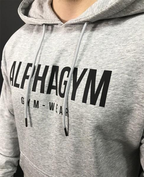 """ORIGINAL"" Oversize Hoodie grey/black"