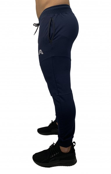 """PERFORMANCE"" PANTS navy/white"