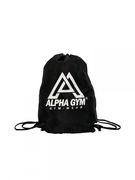 """GYM SACK"" black/white"