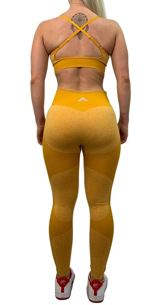 """HYPER ACTIVE"" Leggings yellow"