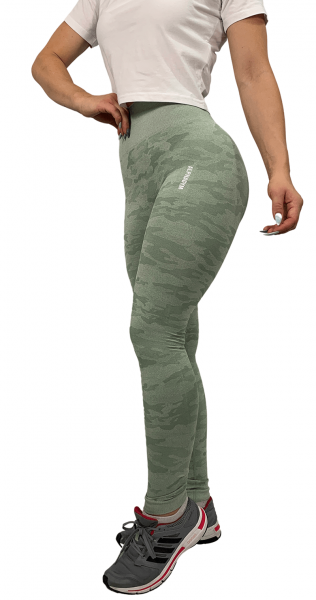 """GREEN CAMOUFLAGE"" Leggings"