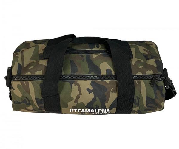 """#TEAMALPHA"" DUFFLE BAG Camouflage"