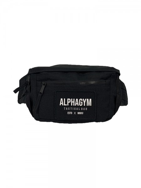 """TACTICAL"" BELT BAG black/white"