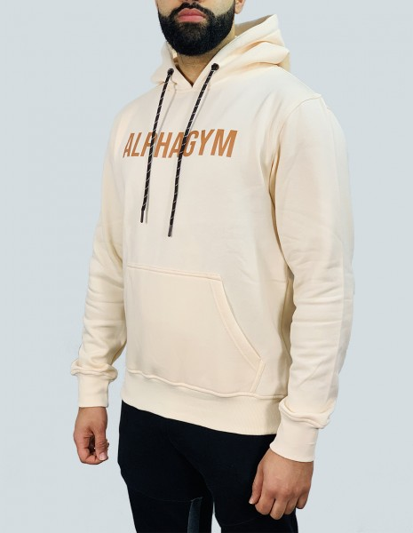 """ORIGINAL"" Hoodie peach/brown"