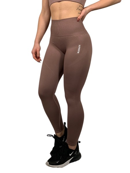 """FLYTNESS"" Seamless Leggings coffee"