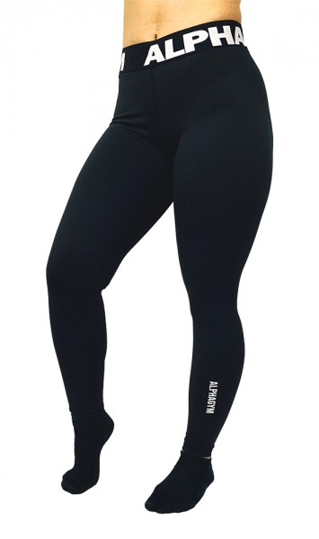 "ALPHA GYM ""MOVE"" Women Leggings black/white"