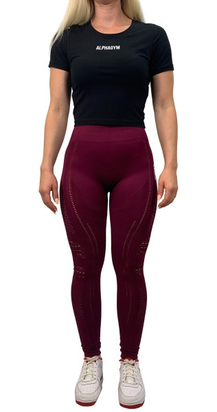 """RESISTANCE"" Leggings red"