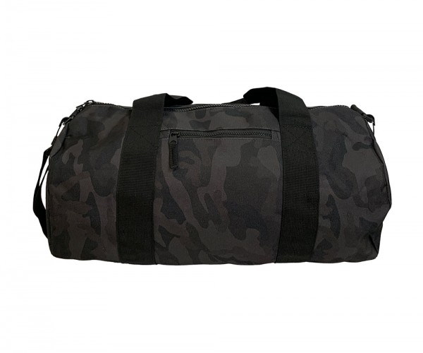 """#TEAMALPHA"" DUFFLE BAG BLACK CAMO"