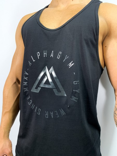 """SIGNATURE"" Stringer black/grey silver"