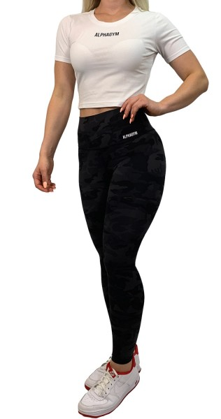 """BLACK CAMO"" Leggings"