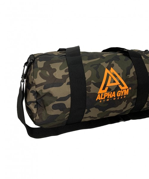 DUFFLE BAG CAMO orange