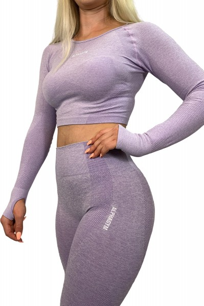 """LIMITLESS"" Seamless Leggings flieder"