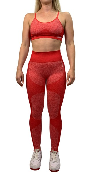 """HYPER ACTIVE"" Leggings red"