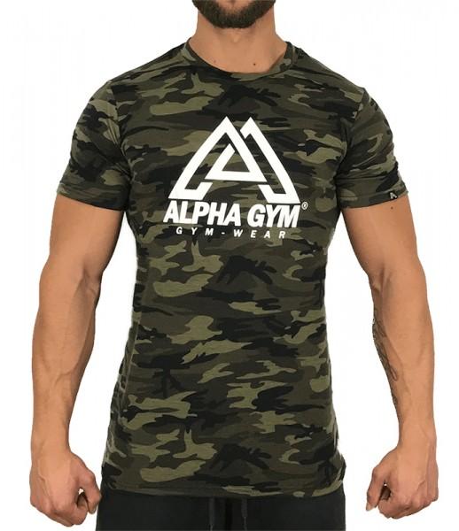 """ALPHA GYM """"CAMO"""" T-Shirt"""