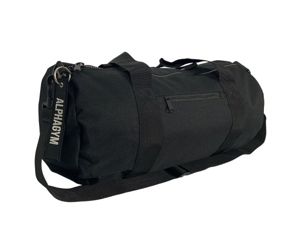 """LOCKDOWN"" DUFFLE BAG black/white"