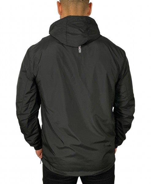 """LOCKDOWN"" Windbreaker black/reflective"
