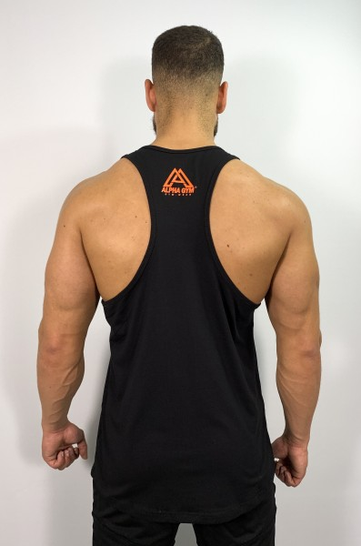 """SIGNATURE"" Stringer black/orange"