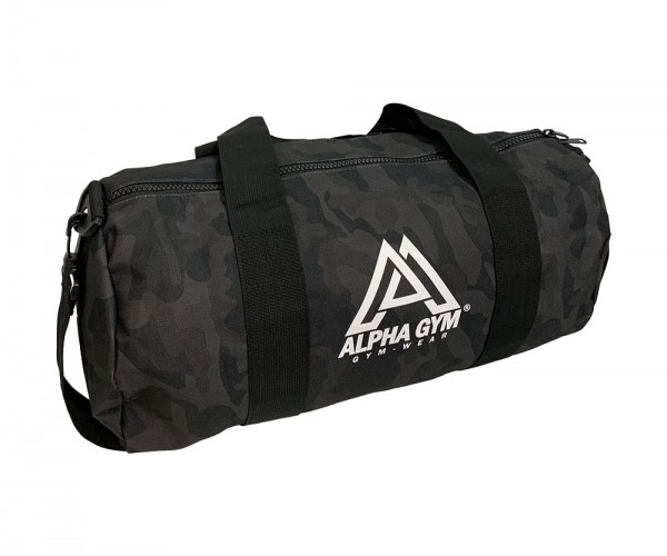 DUFFLE BAG BLACK CAMO