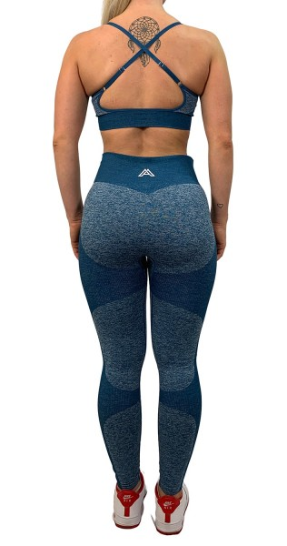 """HYPER ACTIVE"" Leggings blue"