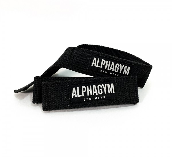 LIFTING STRAPS Zughilfen black