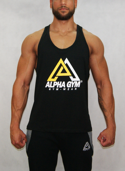 """BIG LOGO"" Stringer black"
