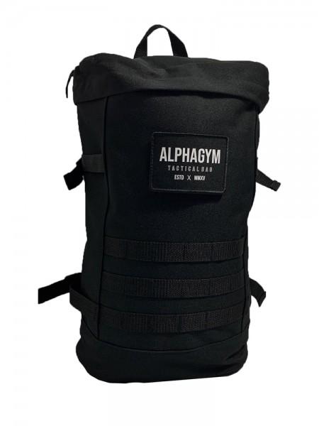 """""""TACTICAL BAG"""" Backpack black/white"""