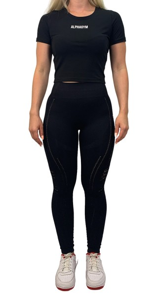 """RESISTANCE"" Leggings black"