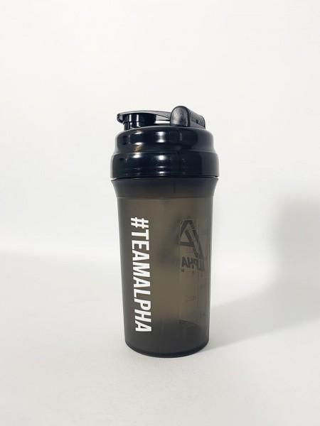 """'TEAMALPHA"" Pro Shaker black"
